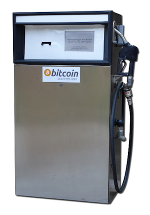 bitcoin fluid dispenser